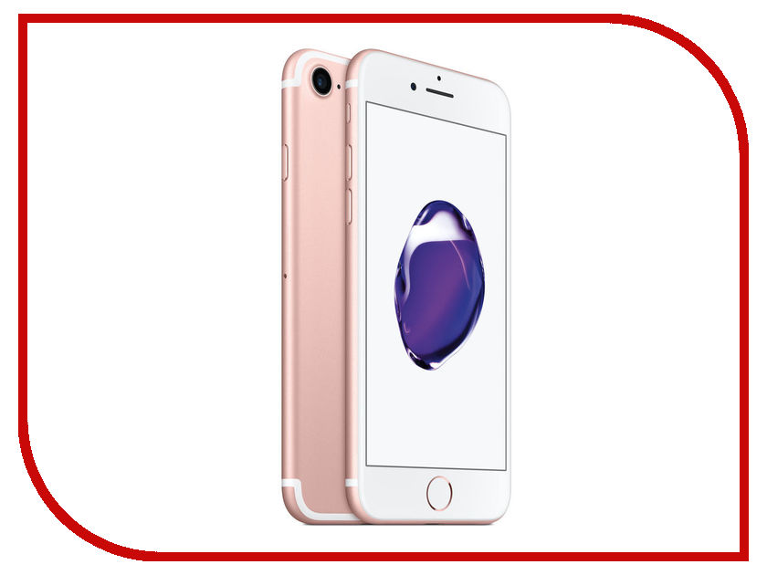 Сотовый телефон APPLE iPhone 7 - 128Gb Rose Gold MN952RU/A сотовый телефон apple iphone 6s 16gb rose gold fkqm2ru a восстановленный