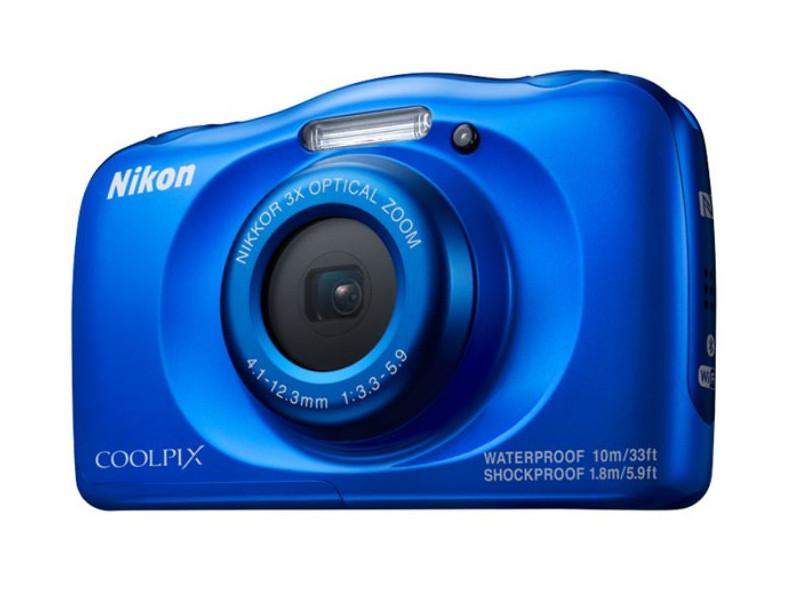 Фотоаппарат Nikon Coolpix W100 Blue цена