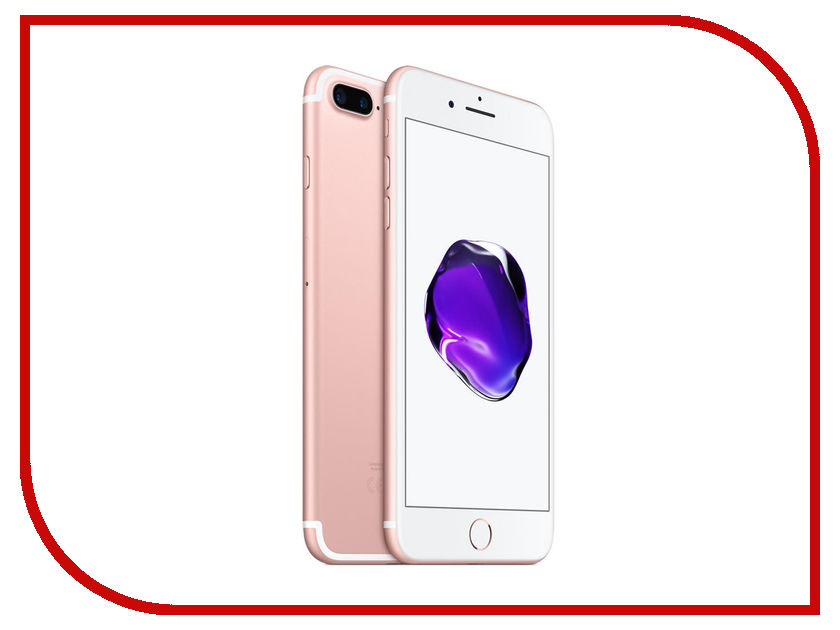 Сотовый телефон APPLE iPhone 7 Plus - 32Gb Rose Gold MNQQ2RU/A сотовый телефон apple iphone 7 plus 32gb gold mnqp2ru a