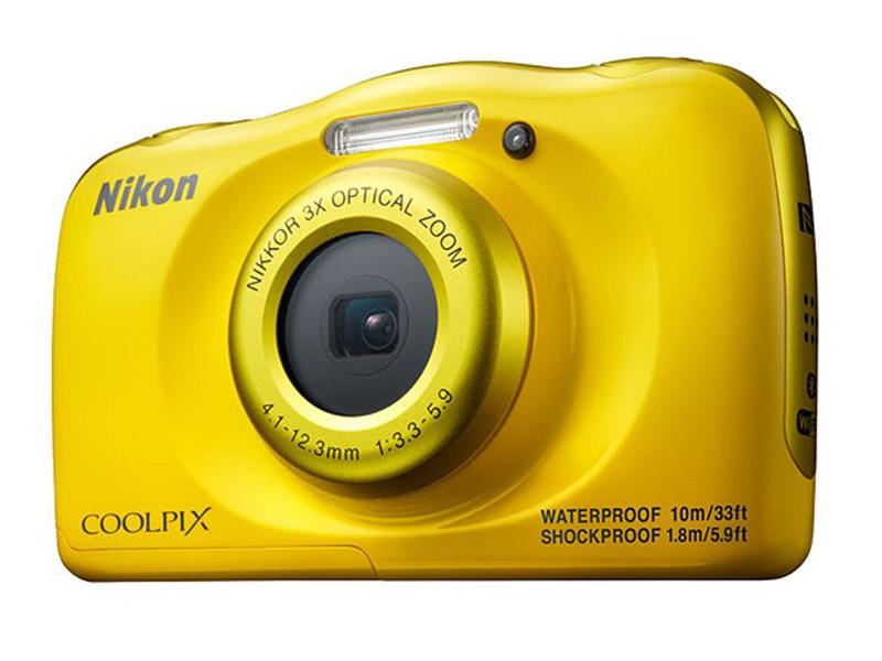 Фотоаппарат Nikon Coolpix W100 Yellow цена