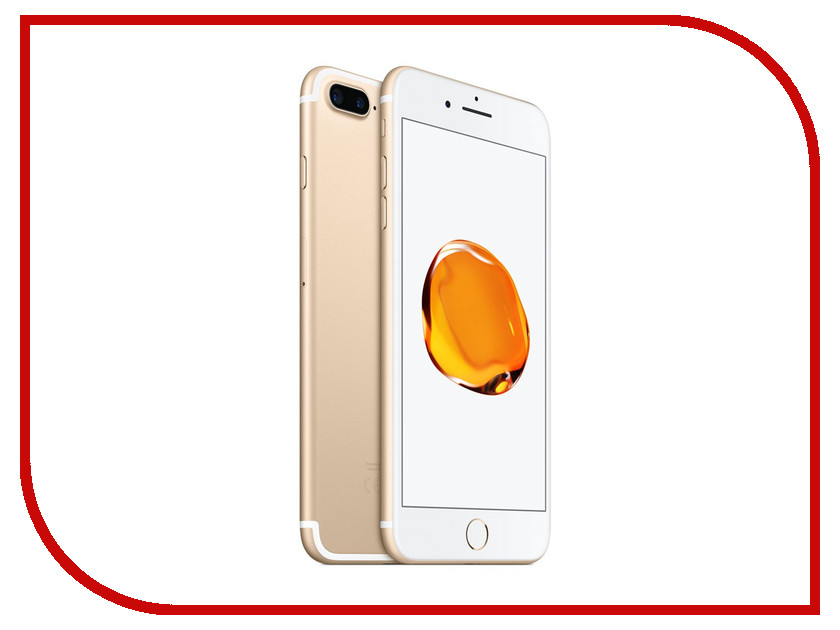 Сотовый телефон APPLE iPhone 7 Plus - 32Gb Gold MNQP2RU/A сотовый телефон htc u11 plus 128gb amazing silver