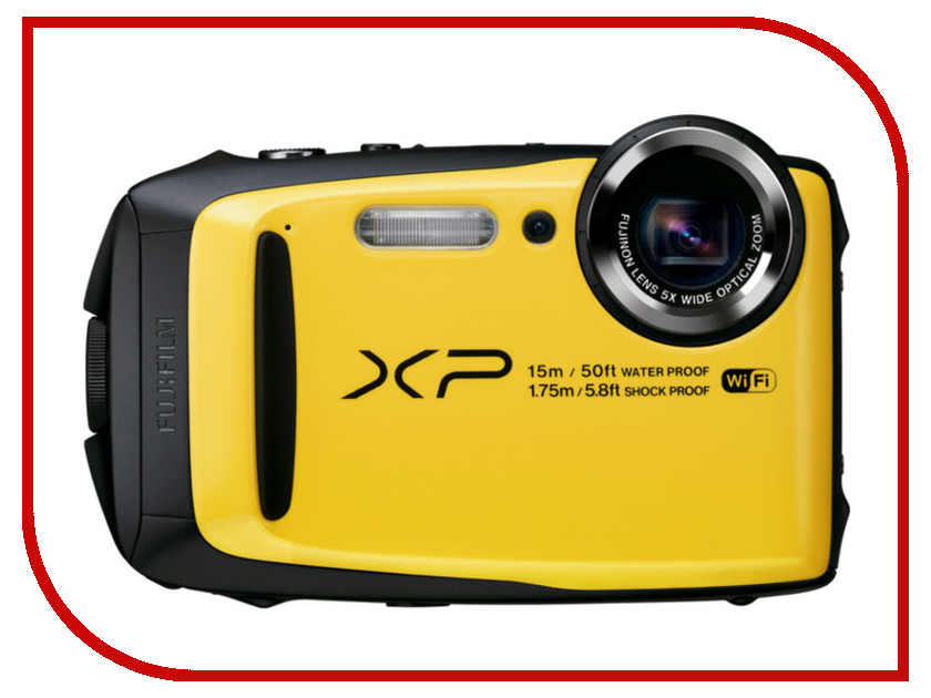 Фотоаппарат FujiFilm FinePix XP90 Yellow