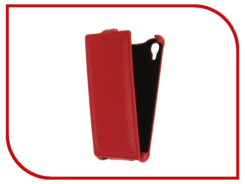 Аксессуар Чехол Tele2 Midi Gecko Red GG-F-TELE2MIDI-RED