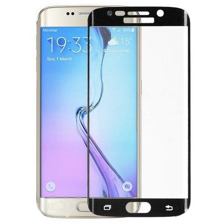 Аксессуар Защитное стекло для Samsung Galaxy S6 Edge Onext 3D с рамкой Black 41025 защитное стекло для samsung g925f galaxy s6 edge onext изогнутое по форме дисплея с прозрачной рамкой