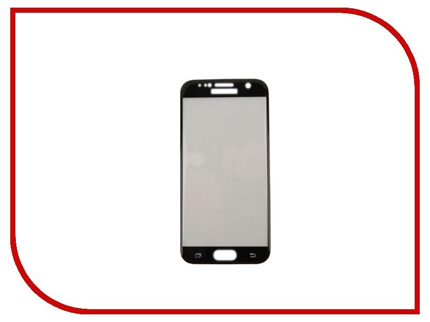 Аксессуар Защитное стекло Samsung Galaxy S7 Onext 3D с рамкой Black 41093