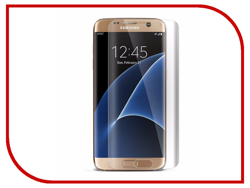 Аксессуар Защитное стекло для Samsung Galaxy S7 Edge Onext 3D Transparent 41165 защитное стекло для samsung galaxy s7 inter step is tg samgalxs7 transparent