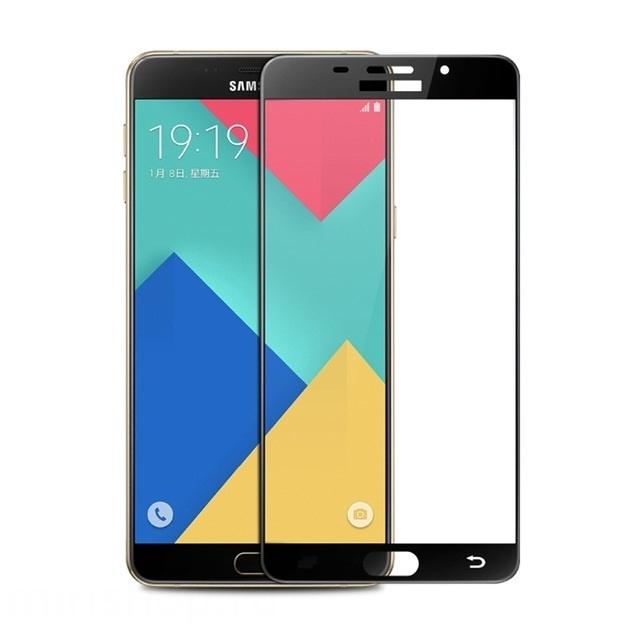 Аксессуар Защитное стекло Samsung Galaxy A5 2016 Onext с рамкой Black 41090 смартфон samsung galaxy a5 2016 4g 16gb black