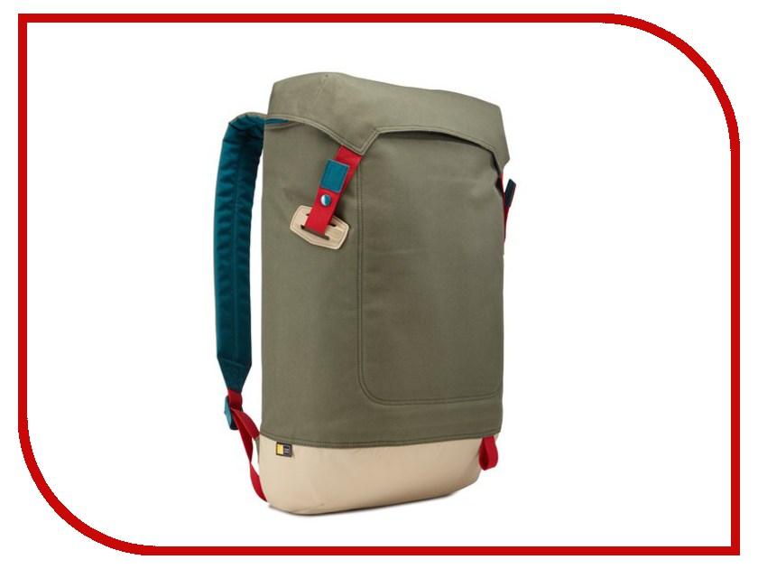 Рюкзак Case Logic 15.6 Larimer LARI-115PTG Green case logic vnb 217 black рюкзак для ноутбука 17