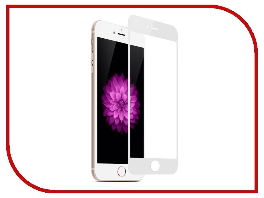 Аксессуар Защитное стекло Onext 3D для iPhone 7 White 41158 аксессуар защитное стекло onext 3d для iphone 7 black 41159