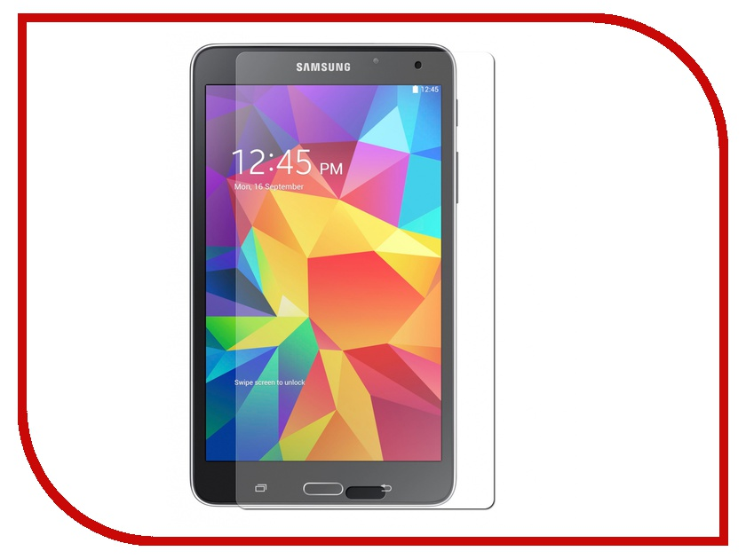 Аксессуар Защитная пленка Samsung Galaxy Tab 4 7.0 Onext суперпрозрачная 40745<br>