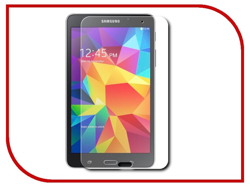 Аксессуар Защитная пленка Samsung Galaxy Tab 4 8.0 Onext суперпрозрачная 40747
