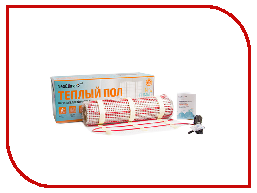 Теплый пол NeoClima N-TM 900/6.0 теплый пол neoclima nms345 2 3