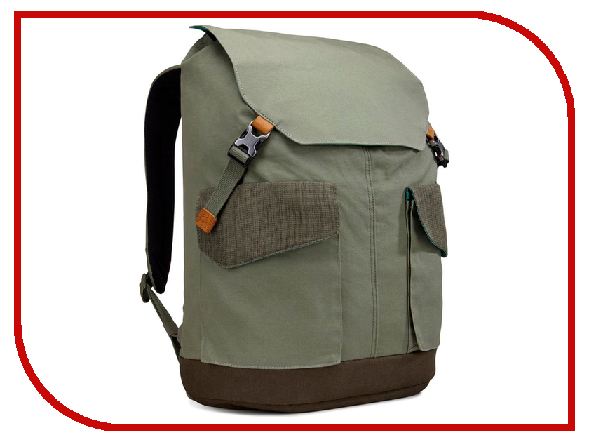 Рюкзак Case Logic LoDo 15.6-inch LODP-115PTG Khaki рюкзак case logic 17 3 prevailer black prev217blk mid
