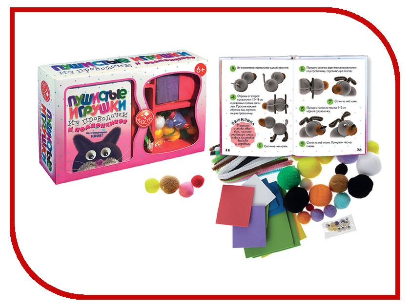 Игрушка Конструктор МАЭСТРО Пушистые игрушки из проволочек и помпончиков<br>
