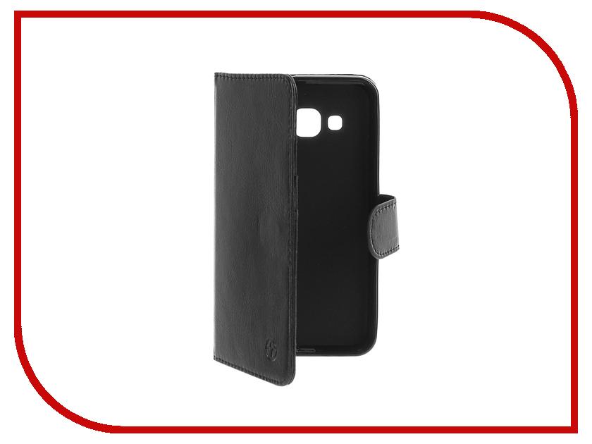Аксессуар Чехол Samsung Galaxy J3 2016 Pulsar Wallet Case Black PWC0018<br>