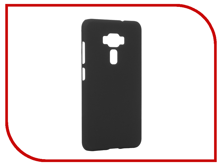 Аксессуар Чехол ASUS ZenFone 3 ZE552KL Pulsar Clipcase PC Soft-Touch Black PCC0207