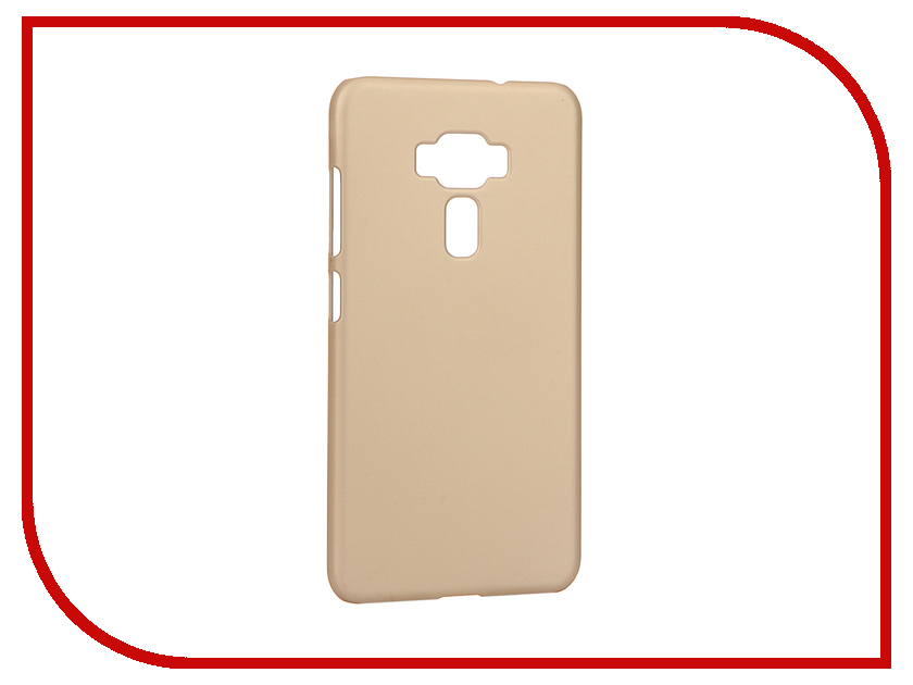 Аксессуар Чехол ASUS ZenFone 3 ZE552KL Pulsar Clipcase PC Soft-Touch Gold PCC0208<br>