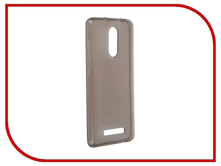 ��������� ����� Xiaomi Redmi Note 3 Pulsar Clipcase TPU Dark Transparent PTC0106