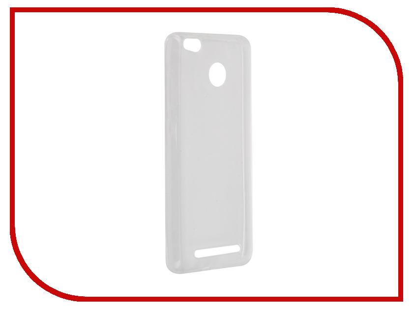 Аксессуар Чехол Xiaomi Redmi 3 Pro Pulsar Clipcase TPU Transparent PTC0365