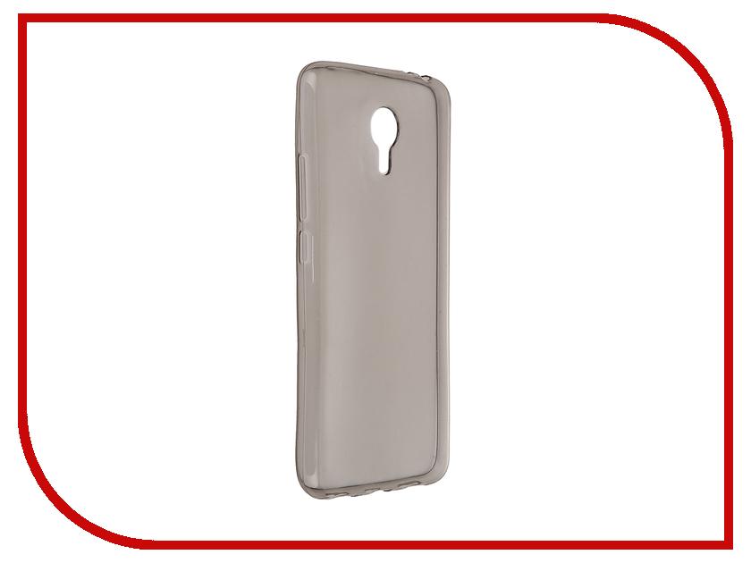 Аксессуар Чехол Meizu M3 Note Pulsar Clipcase TPU Dark Transparent PTC0309<br>