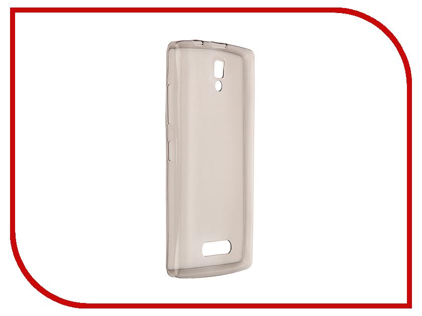 Аксессуар Чехол Lenovo A2010 Pulsar Clipcase TPU Dark Transparent PTC0336