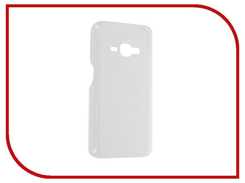 Аксессуар Чехол Samsung J120 SlimCover Clear EF-AJ120CTEGRU<br>