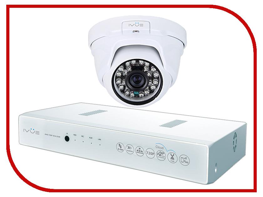 Видеонаблюдение iVUE 1080N-1MPX-1D видеонаблюдение ivue ahd 1 mpx дача 4 4 ivue d5004 ahc b4