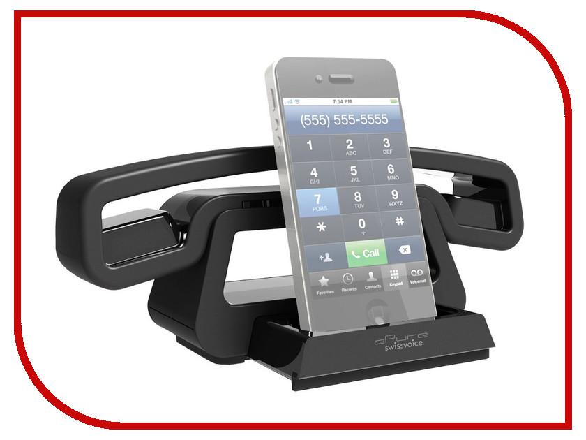 Радиотелефон Swissvoice ePure BH01i Black 44623<br>