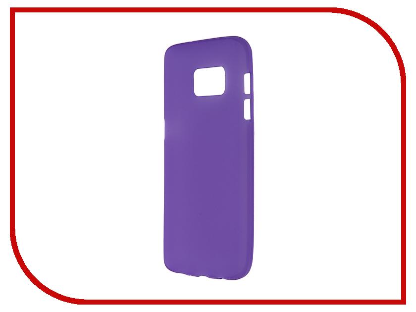 Аксессуар Чехол Samsung Galaxy S7 Pulsar Clipcase TPU Violet PTC0215
