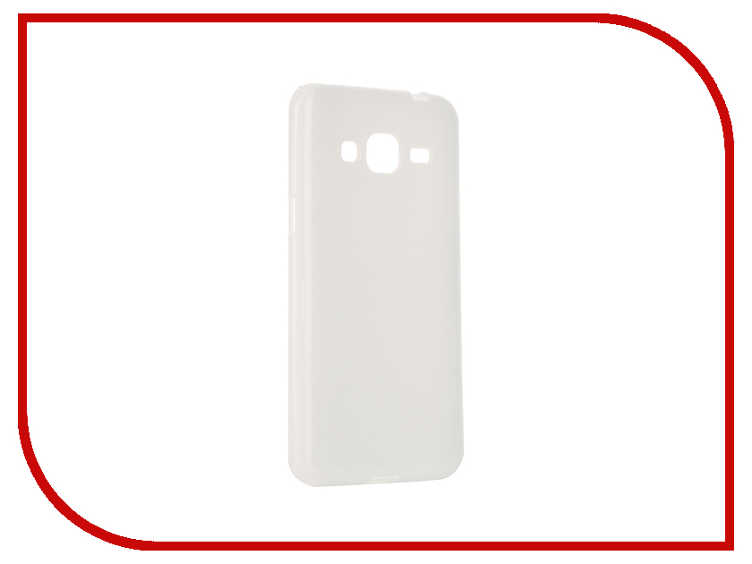 Аксессуар Чехол Samsung Galaxy J3 2016 Pulsar Clipcase TPU White PTC0174<br>