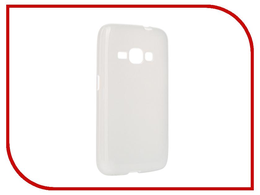 Аксессуар Чехол Samsung Galaxy J1 2016 Pulsar Clipcase TPU White PTC0150<br>