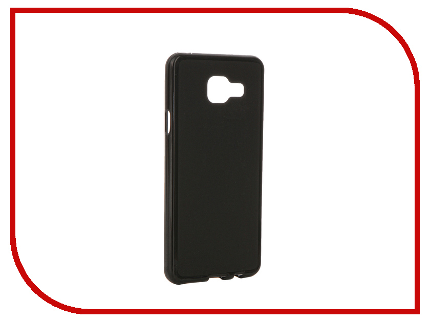 Аксессуар Чехол Samsung Galaxy A3 2016 Pulsar Clipcase TPU Black PTC0004<br>