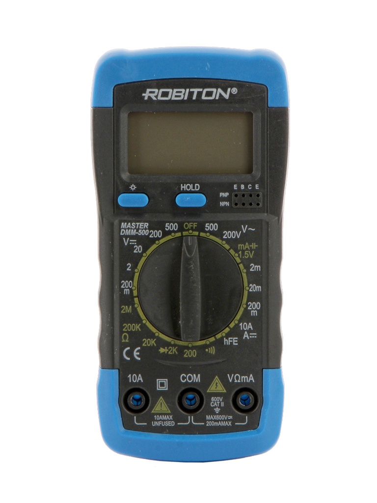 Мультиметр Robiton Master DMM-500 Black