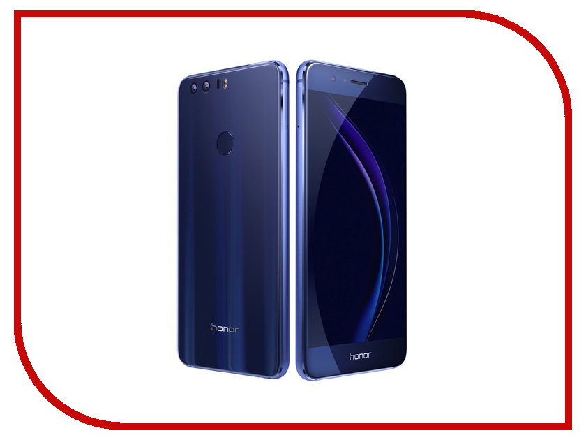 Сотовый телефон Huawei Honor 8 4Gb RAM 32Gb FRD-L09 Blue сотовый телефон huawei honor 8 4gb ram 32gb frd l09 white