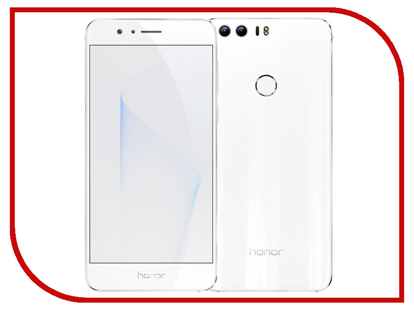 Сотовый телефон Huawei Honor 8 4Gb RAM 32Gb FRD-L09 White сотовый телефон huawei honor 8 4gb ram 32gb frd l09 white