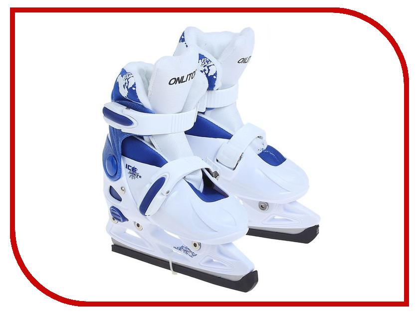 Коньки Onlitop 223F Blue-White 29-32 1131900<br>