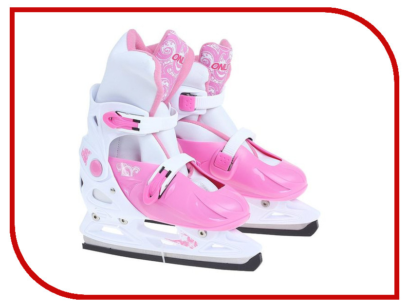 Коньки Onlitop 223F р.37-40 Pink 806170 коньки onlitop 30 33 red black 1231414
