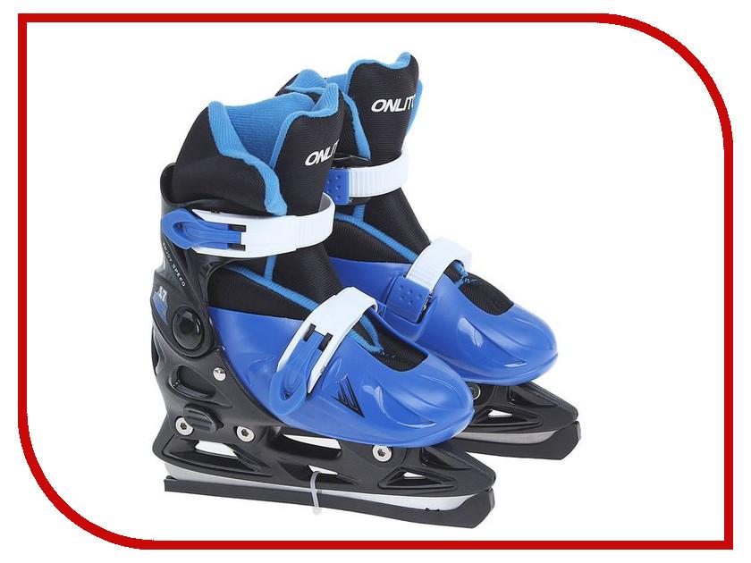 Коньки Onlitop 223F Blue 33-36 806163