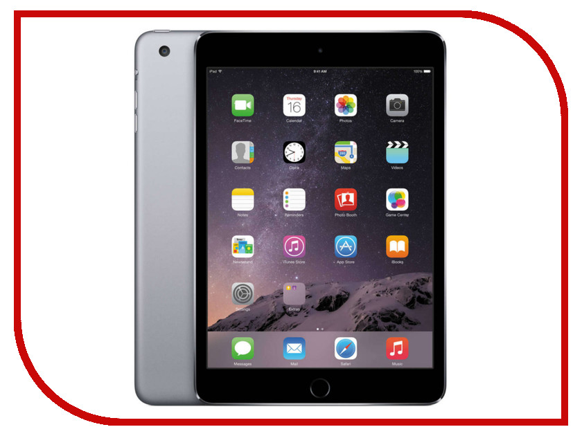Планшет APPLE iPad mini 4 32Gb Wi-Fi Space Grey MNY12RU/A