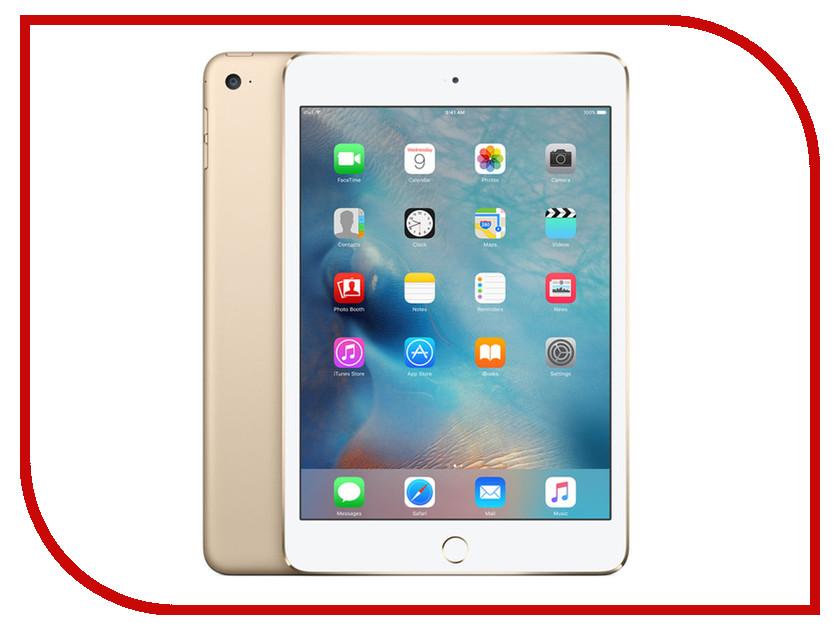 Планшет APPLE iPad mini 4 32Gb Wi-Fi Gold MNY32RU/A