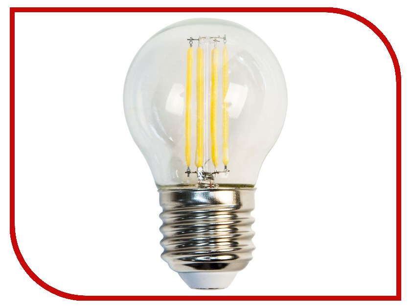 Лампочка Feron LB-61 4LED E27 5W 2700K 230V 13418 светодиодная лампа feron lb 69 5w 230v e14 2700k 25653