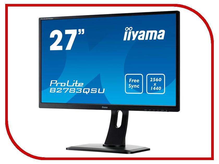 Монитор iiyama ProLite B2783QSU-B1 Black монитор iiyama xub3490wqsu b1 черный