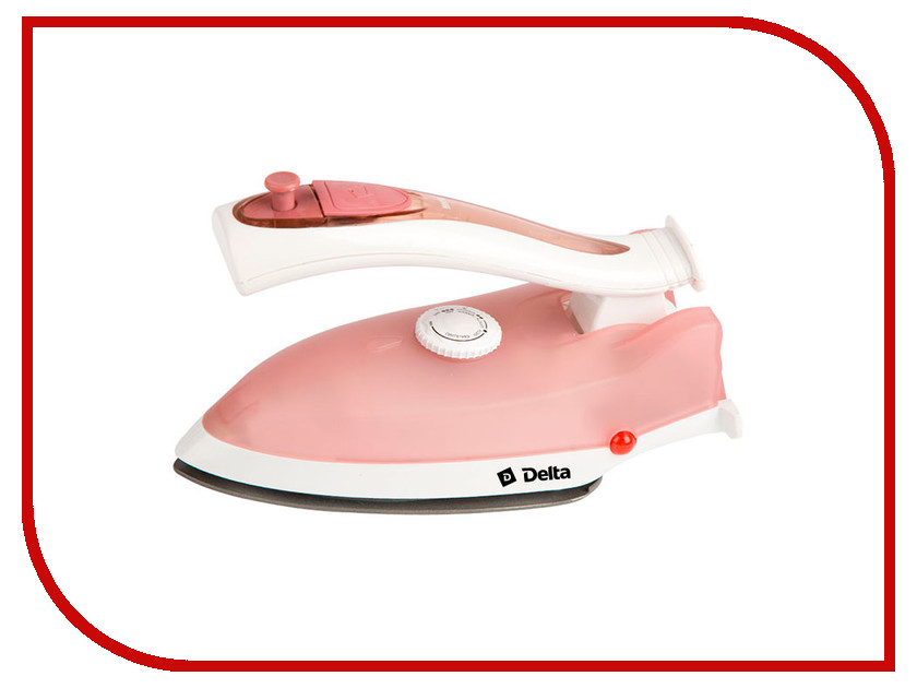 Утюг Delta DL-417T White-Dark Pink delta dl 801