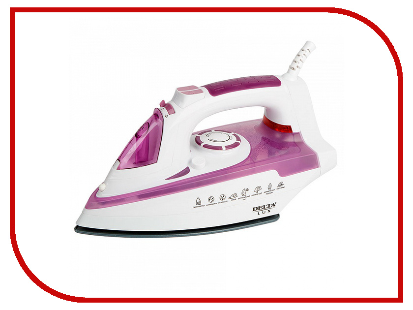 Утюг Delta Lux DL-351 Purple delta lux dl 350 green утюг