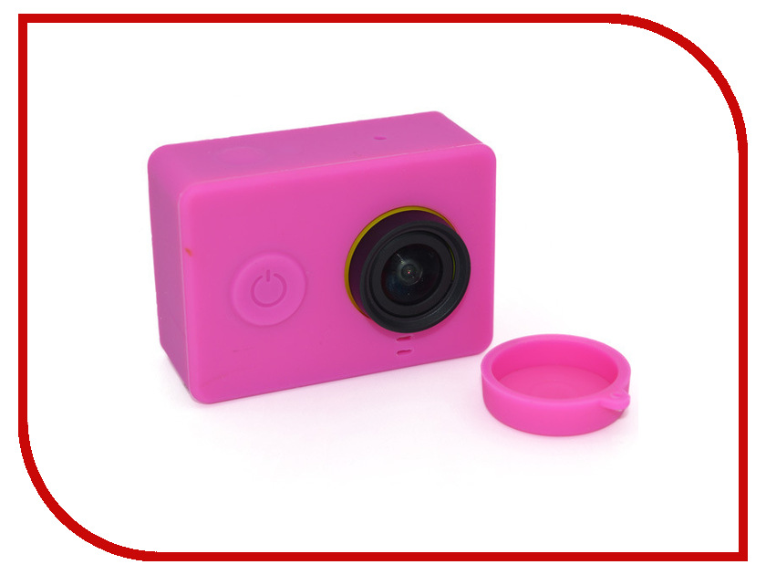 Аксессуар Apres Silicone Case for Xiaomi Yi Camera Purple