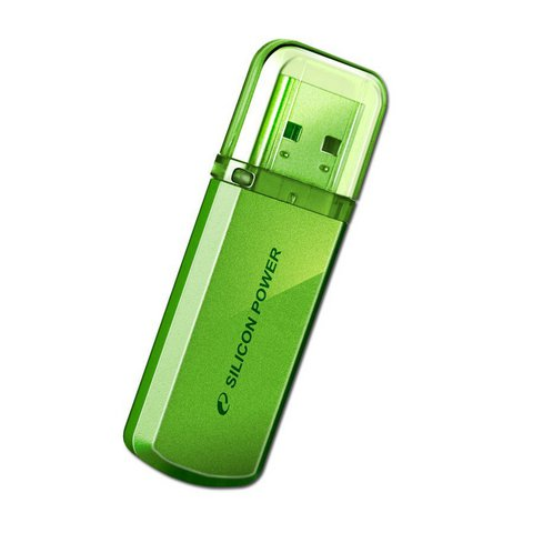 USB Flash Drive 16Gb - Silicon Power Helios 101 Green SP016GBUF2101V1N