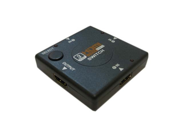 Сплиттер Espada HDMI 1.3 Mini-Switch 3-port HSW0301SS