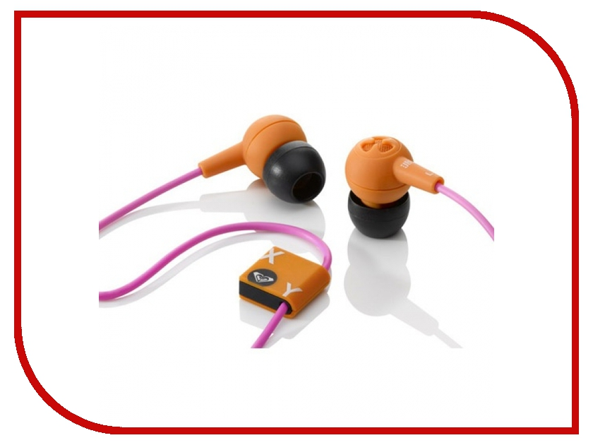 Наушники JBL / Roxy Reference 250 Orange-Pink<br>