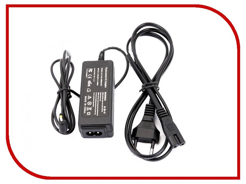 Блок питания Palmexx ASUS 19V 2.1A PA-014 Black для EeePC 1001/1005/1008/1015/1018/1101/1201/1215/Lamborghini VX6/3Q Netbook Qoo!/3QLAP/Sprint/ES1001N/EU1001N series