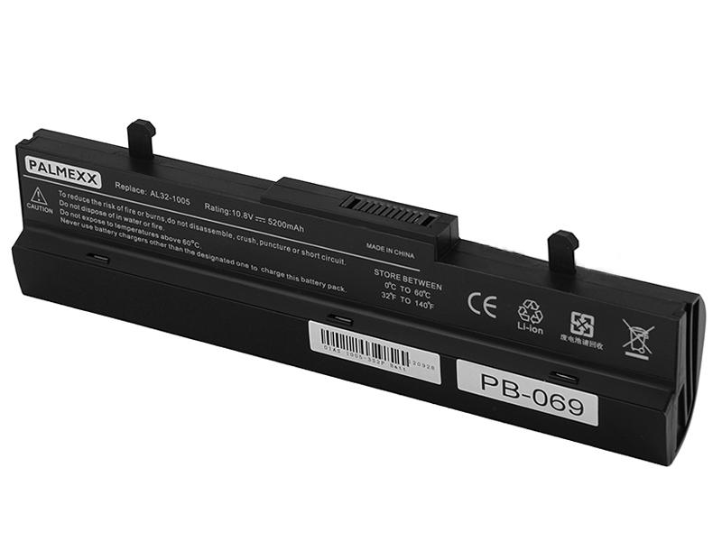 Аккумулятор Asus Eee PC 1001/1005/1101 Palmexx 5200 mAh Black PB-069 аксессуар аккумулятор infinity zte v860 roamer 1700 mah li3715t42p3h415266